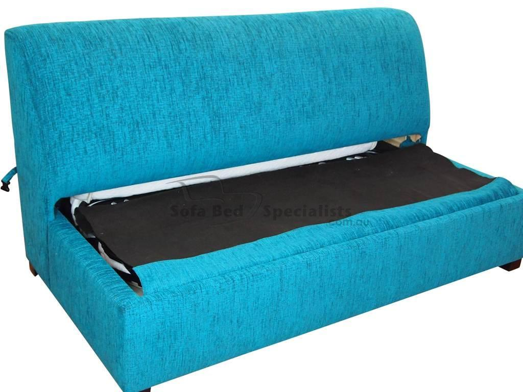 brisbane armless sofabed with innerspring mattress  sofa bed  - sofabedarmlessdouble