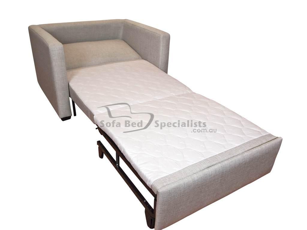 chair turns into single bed