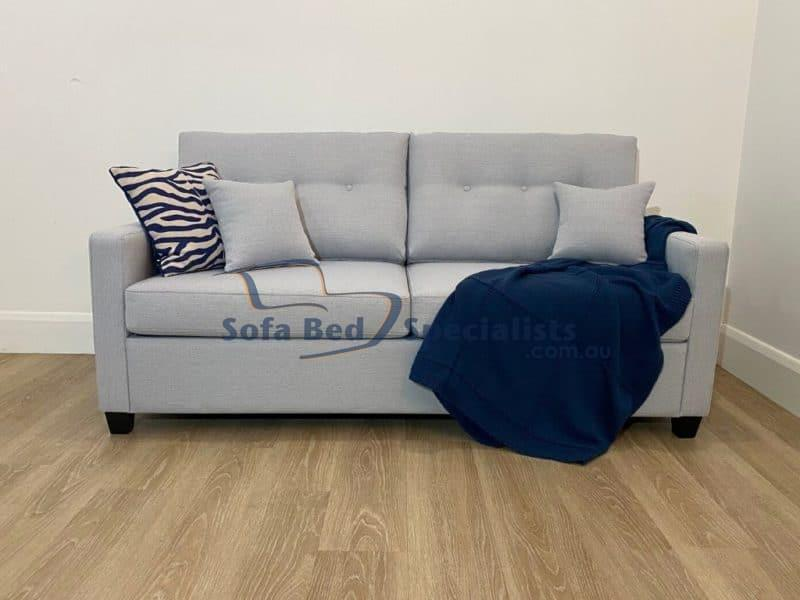 Charlotte Queen Sofa Bed in Zepel Bolt Sky