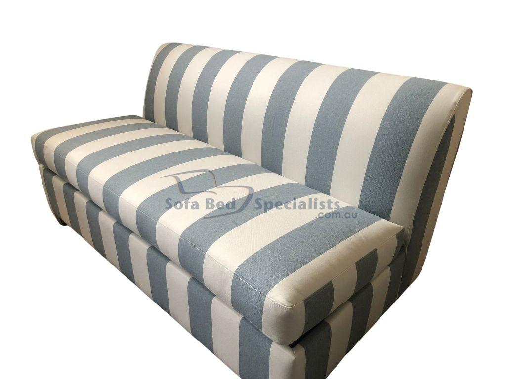 Picture of: Brisbane Armless Sofabed With 6 Innerspring Mattress Sofa Bed Specialists
